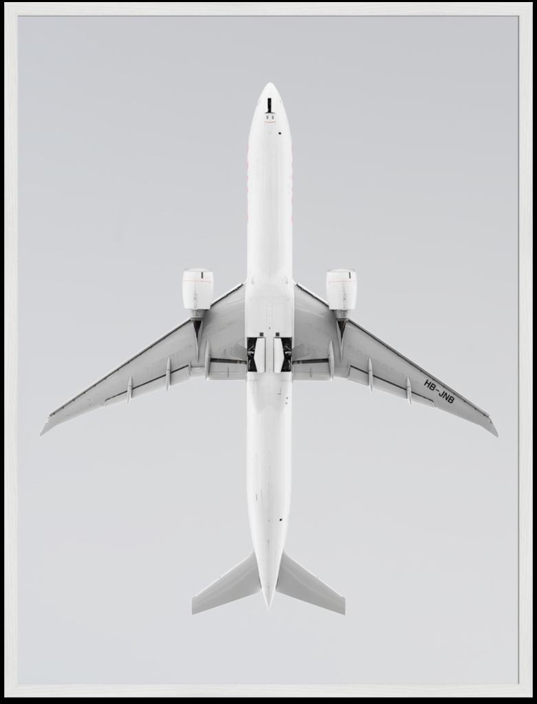 GROSSFORMATFOTO-HB-JNB-SWISS-AIRCRAFT-KUNSTFOTOTGRAFIE-ROBERT-KOPECKY